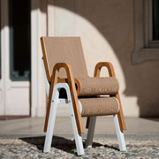 Less Chair: cardboard chair by Giorgio Caporaso for Lessmore