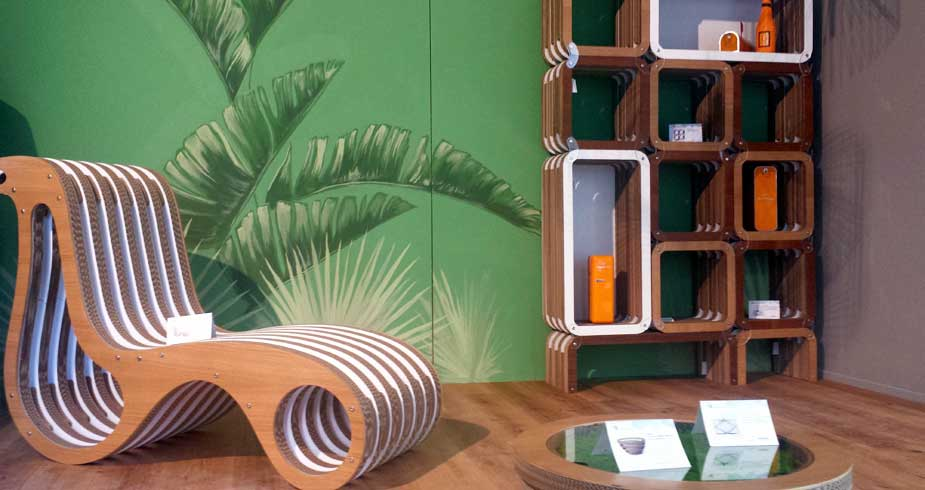 Caporaso and Lessmore at Varese Design Week